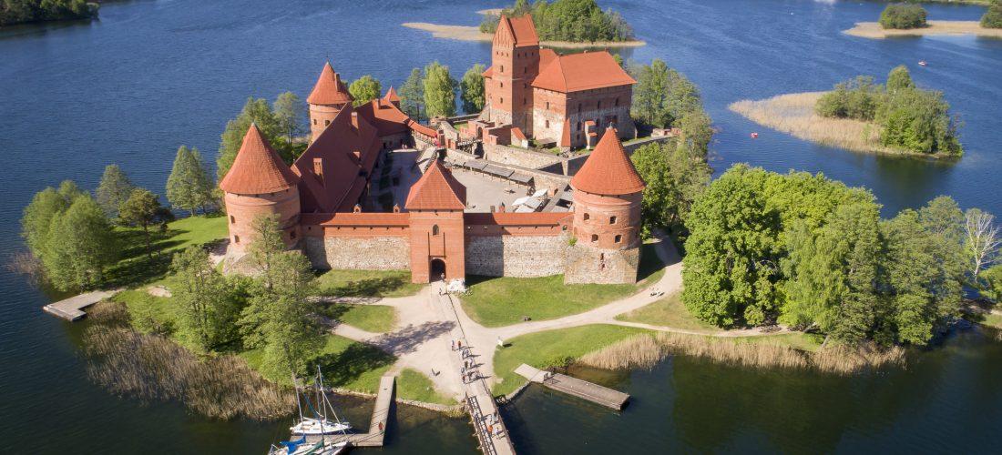 Polen und Baltikum – Wasserburg Trakai