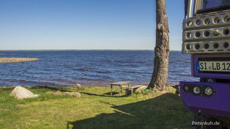 Ein ruhiger Platz am See