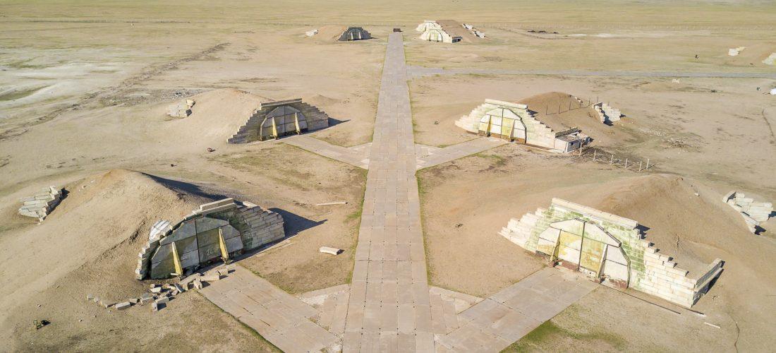 Ruinen der Bayantal Airbase