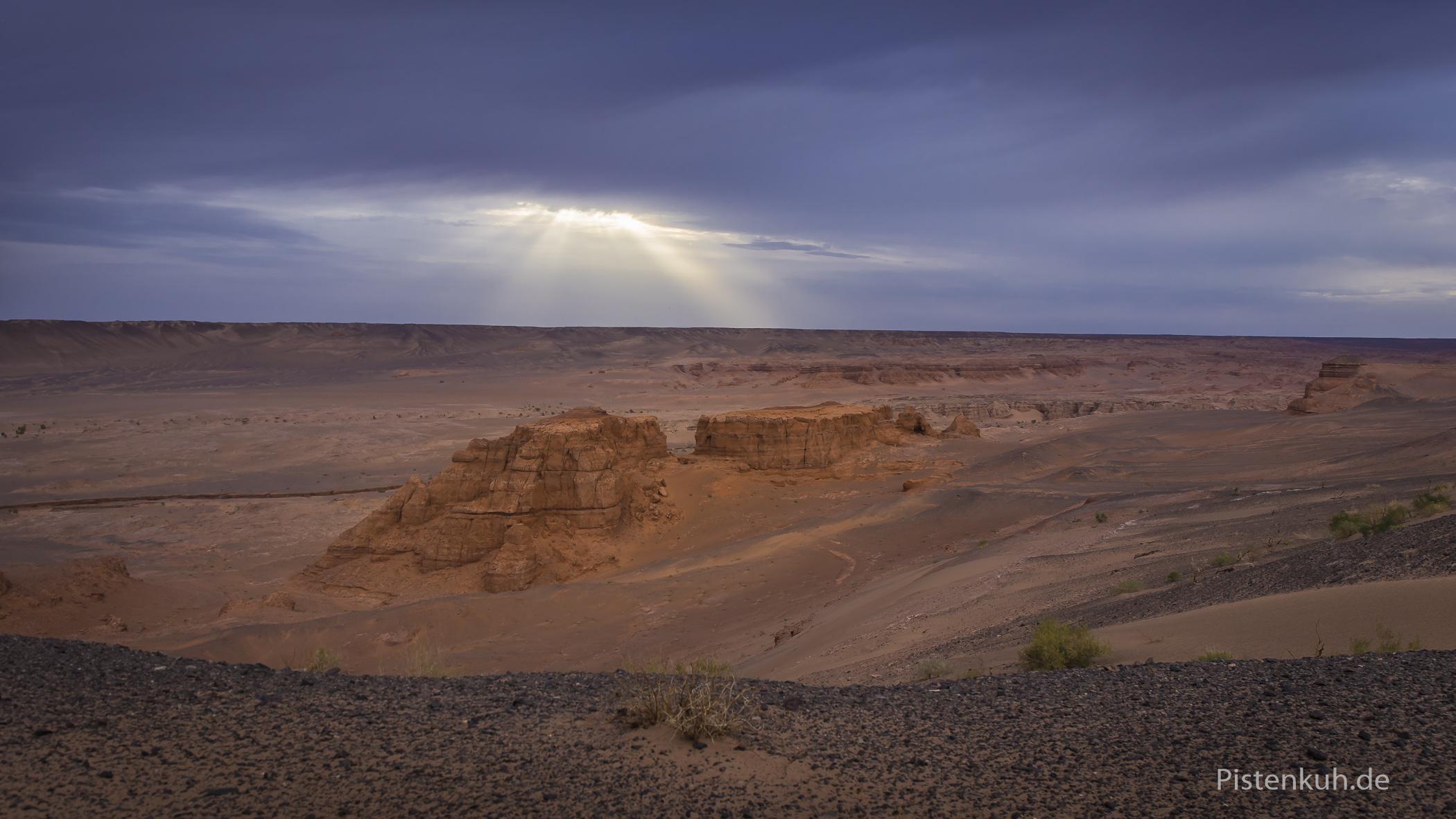 Khermen Tsav, eine beeindruckende Wüstenlandschaft in der Gobi