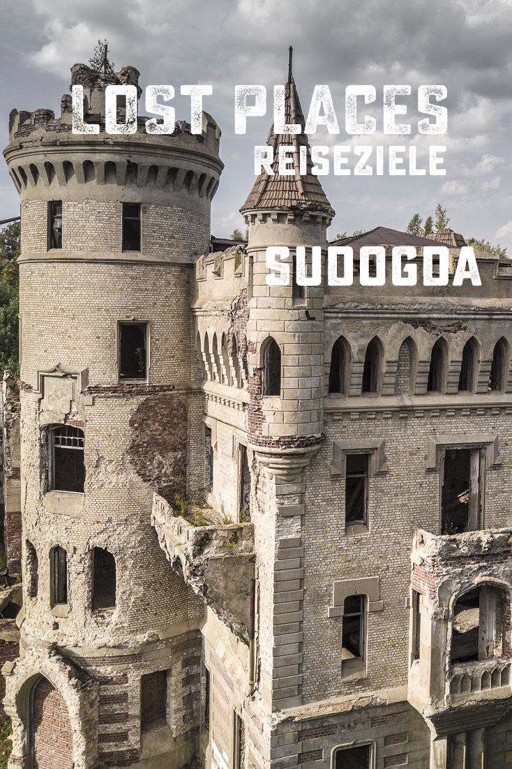 Die Schloss-Ruine in Sudogda