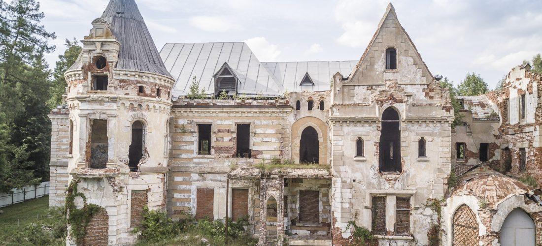 Lost Places: Verlassenes Schloss in Russland