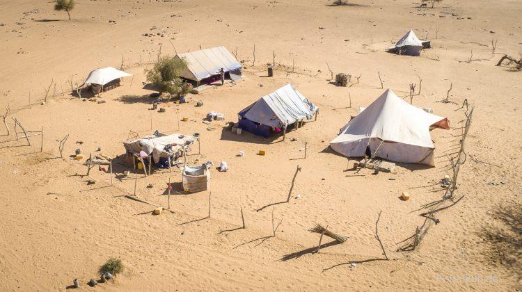 Zelt in Mauretanien