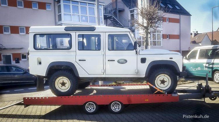 Land Rover Defender TD 4