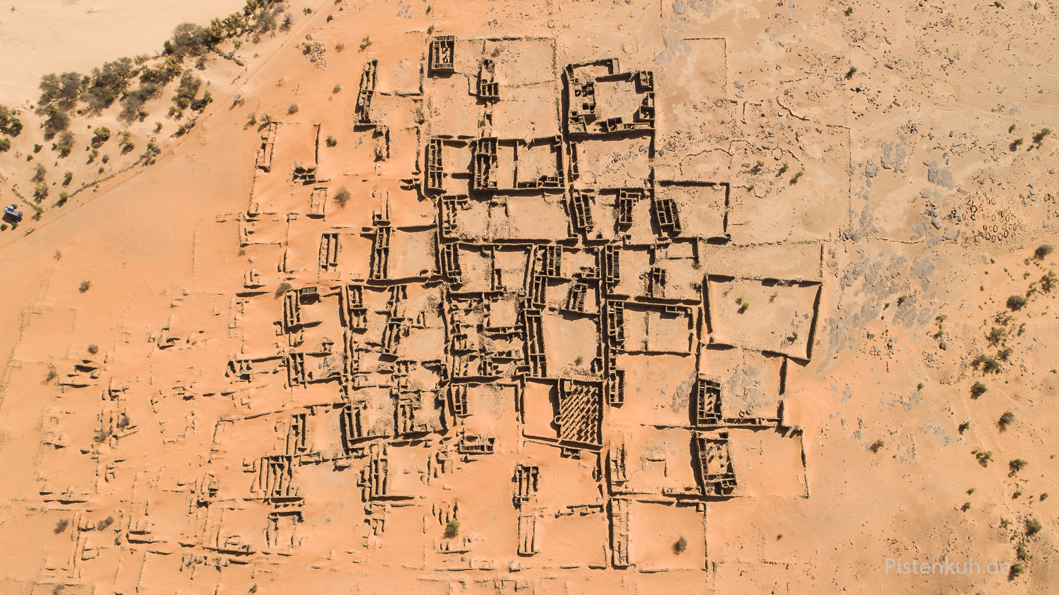 Ksar el Barka, die Ruinenstadt in Mauretanien