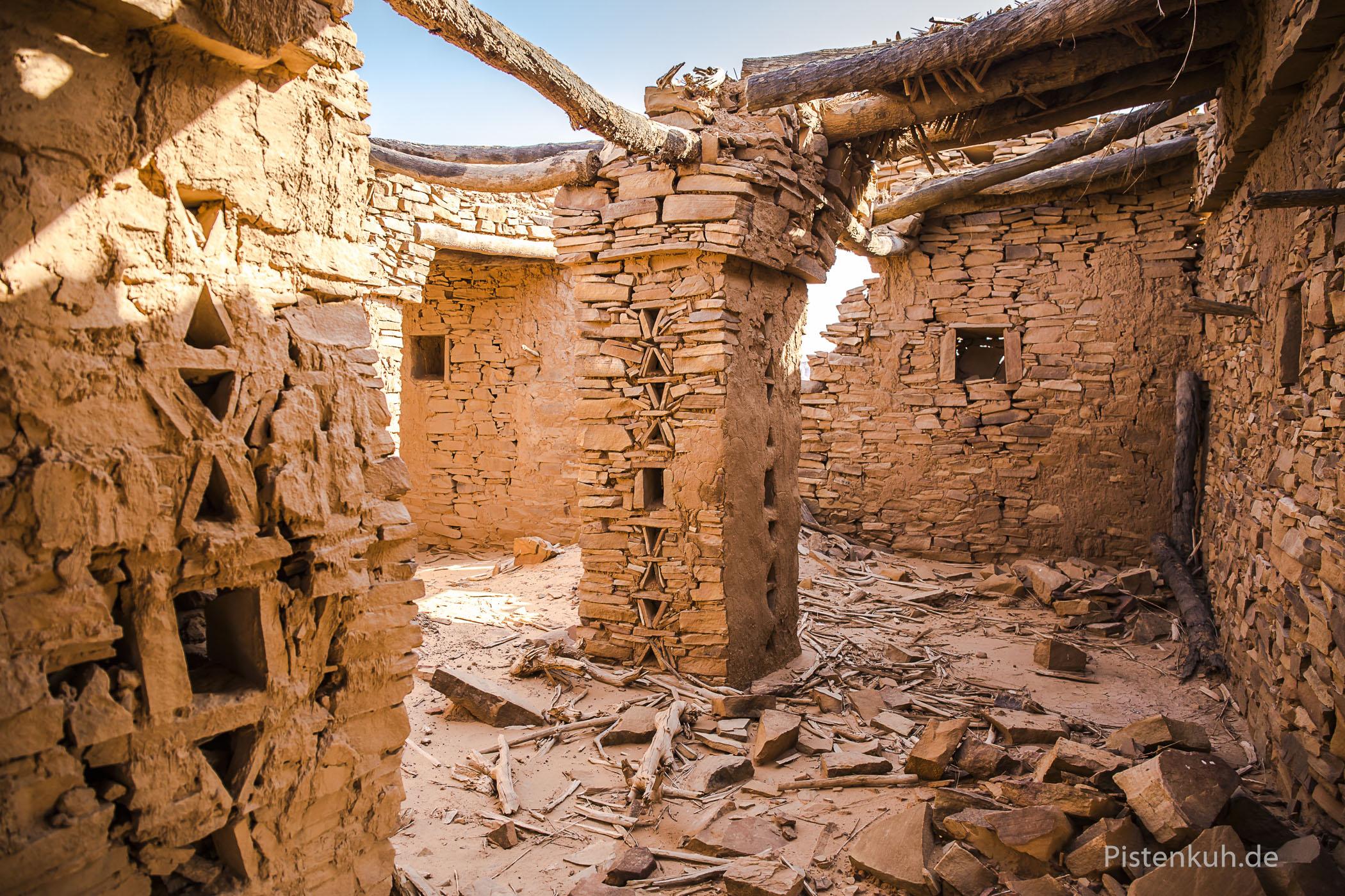 Heute nur noch Ruinen, das einst bedeutende Handelszentrum.