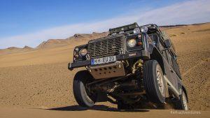 Offroadfahren in der Sahara: Keine Rally, sondern Lust am Fahren.
