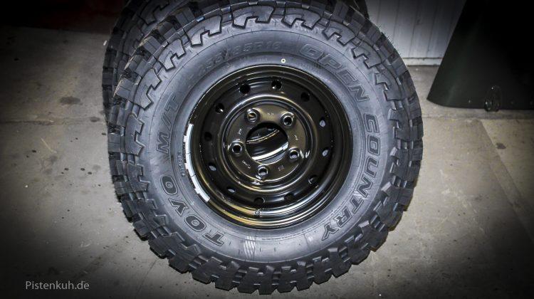Offroad Reifen für Land Rover Defender
