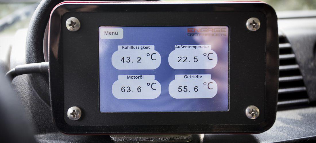 Fahrzeug Informations System für Defender