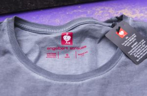 Das Pistenkuh-Shirt wird produziert bei engelbert strauss
