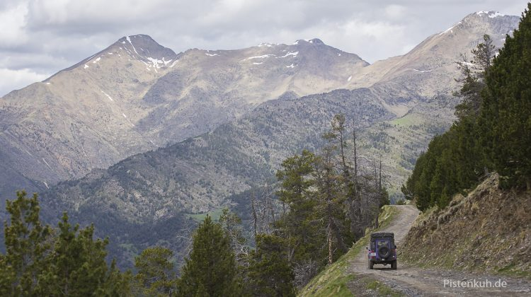 Offroad von Andorra nach Tor auf Schmugglerpfad