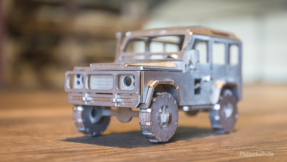 3d-Puzzel Land Rover Defender Metall