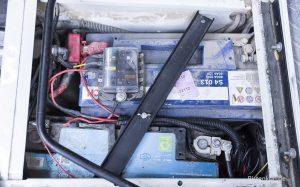 Doppelbatterie-System in unserem Defender