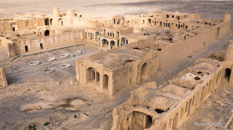 Ruine im Wüstensand