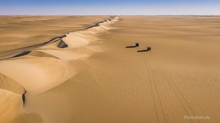 4x4 Expedition ins Meer aus Sand