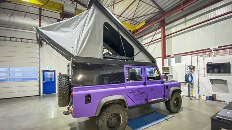 Land Rover Defender bei PWS