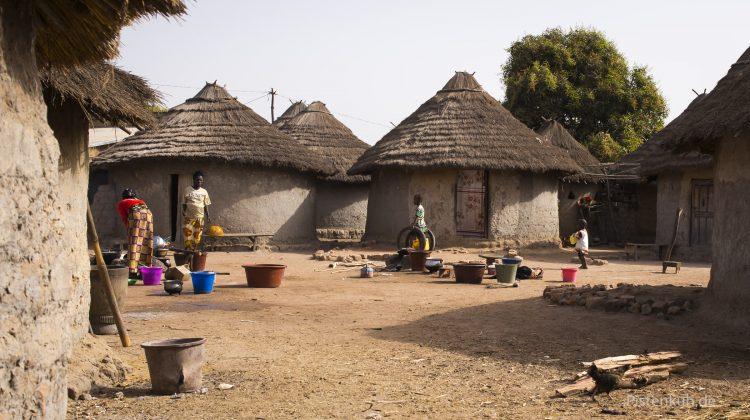 Dorf in Guinea