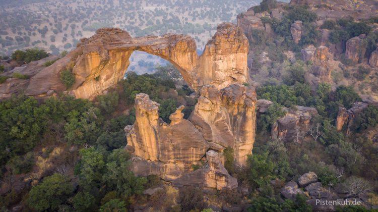 Naturbrücke in Mali