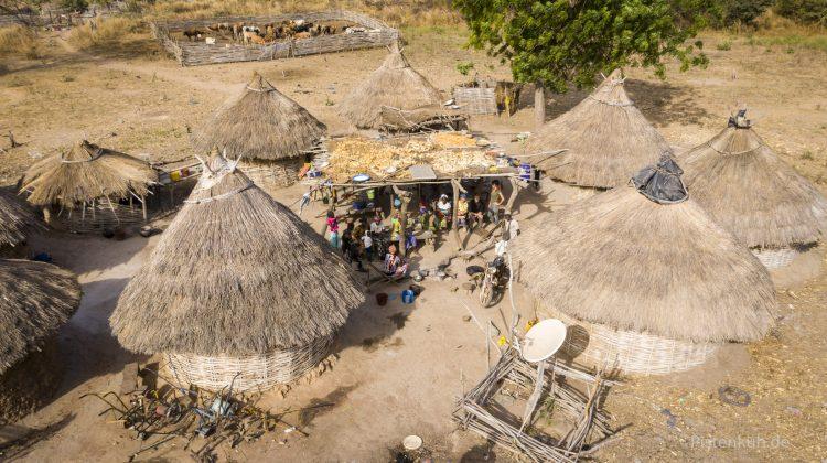 Dorf in Westafrika