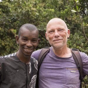 Begegnung in Guinea