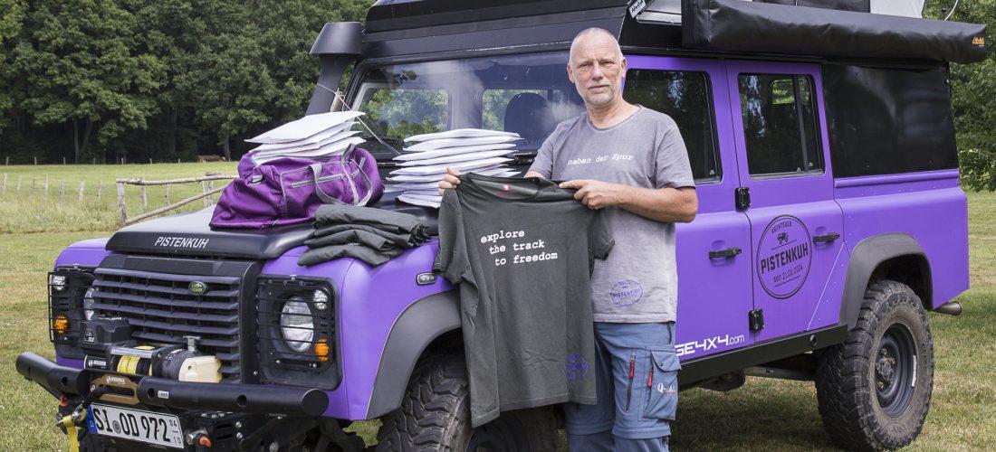 Das Shirt, in dem das Abenteuer steckt