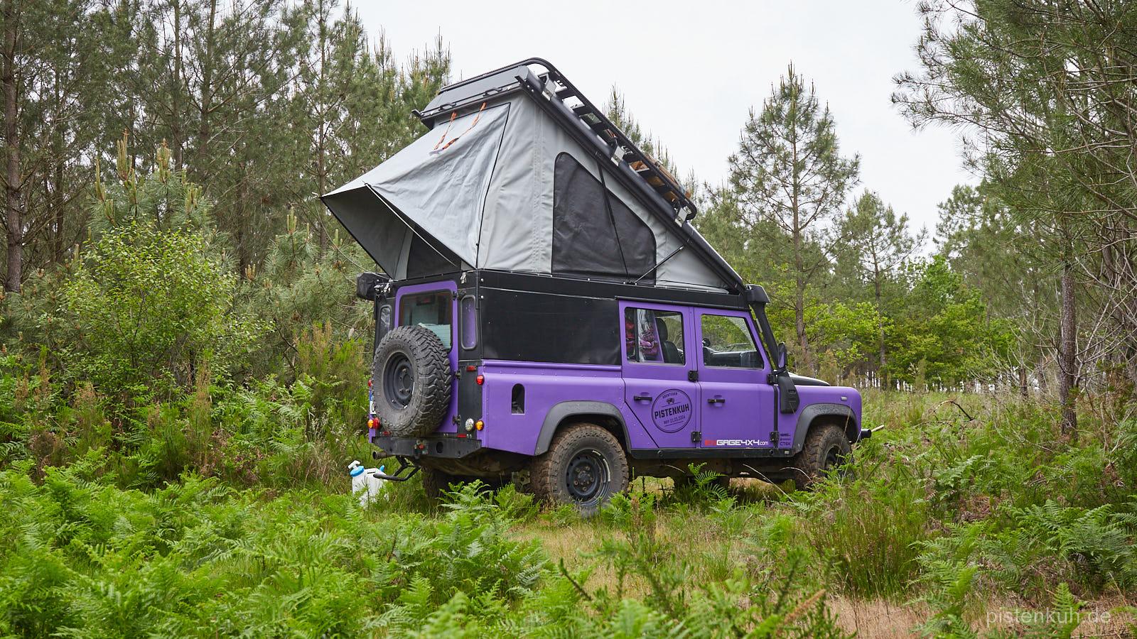Land Rover Defender mit Alucab