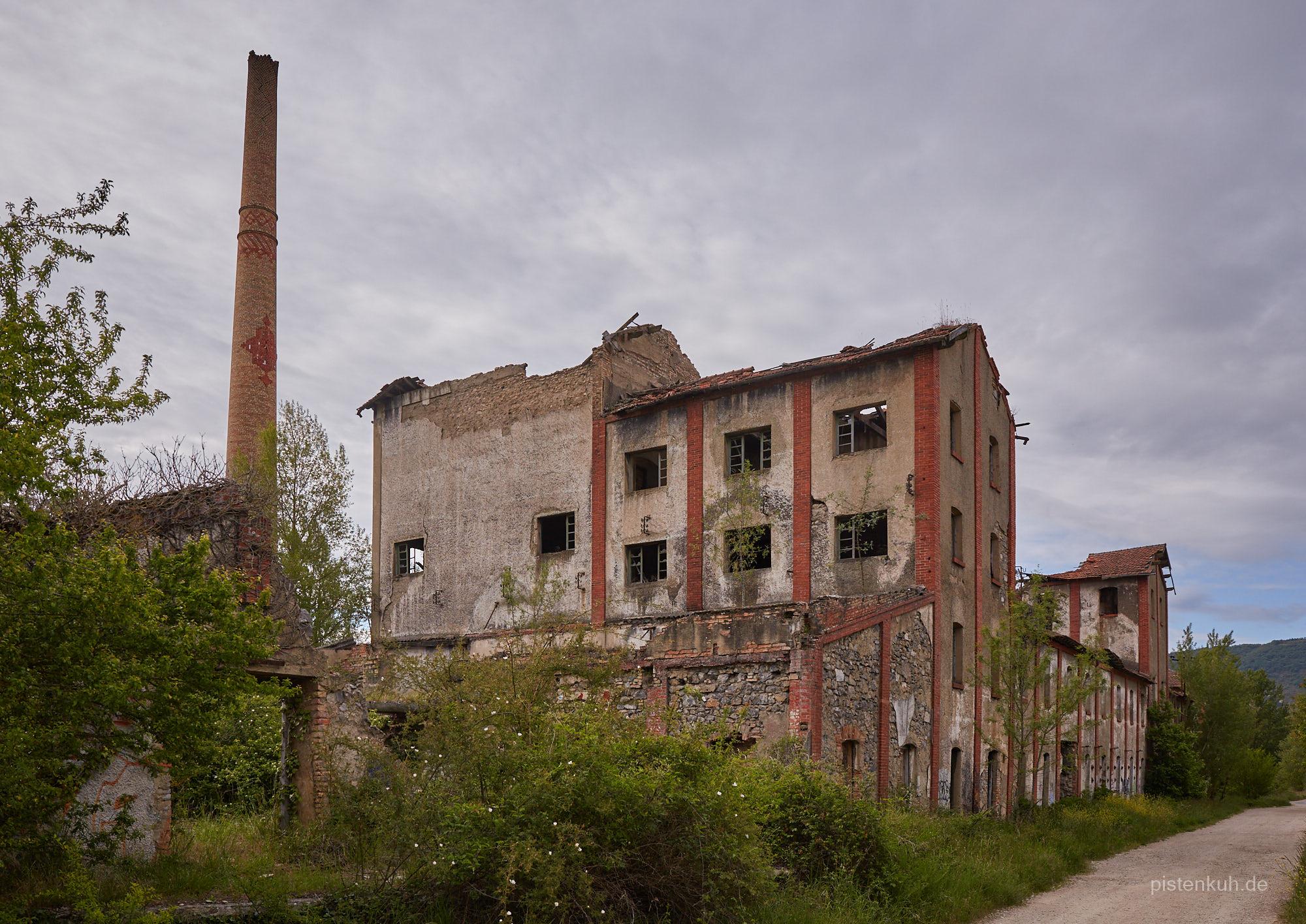 Lost Place Sägewerk in Ekai