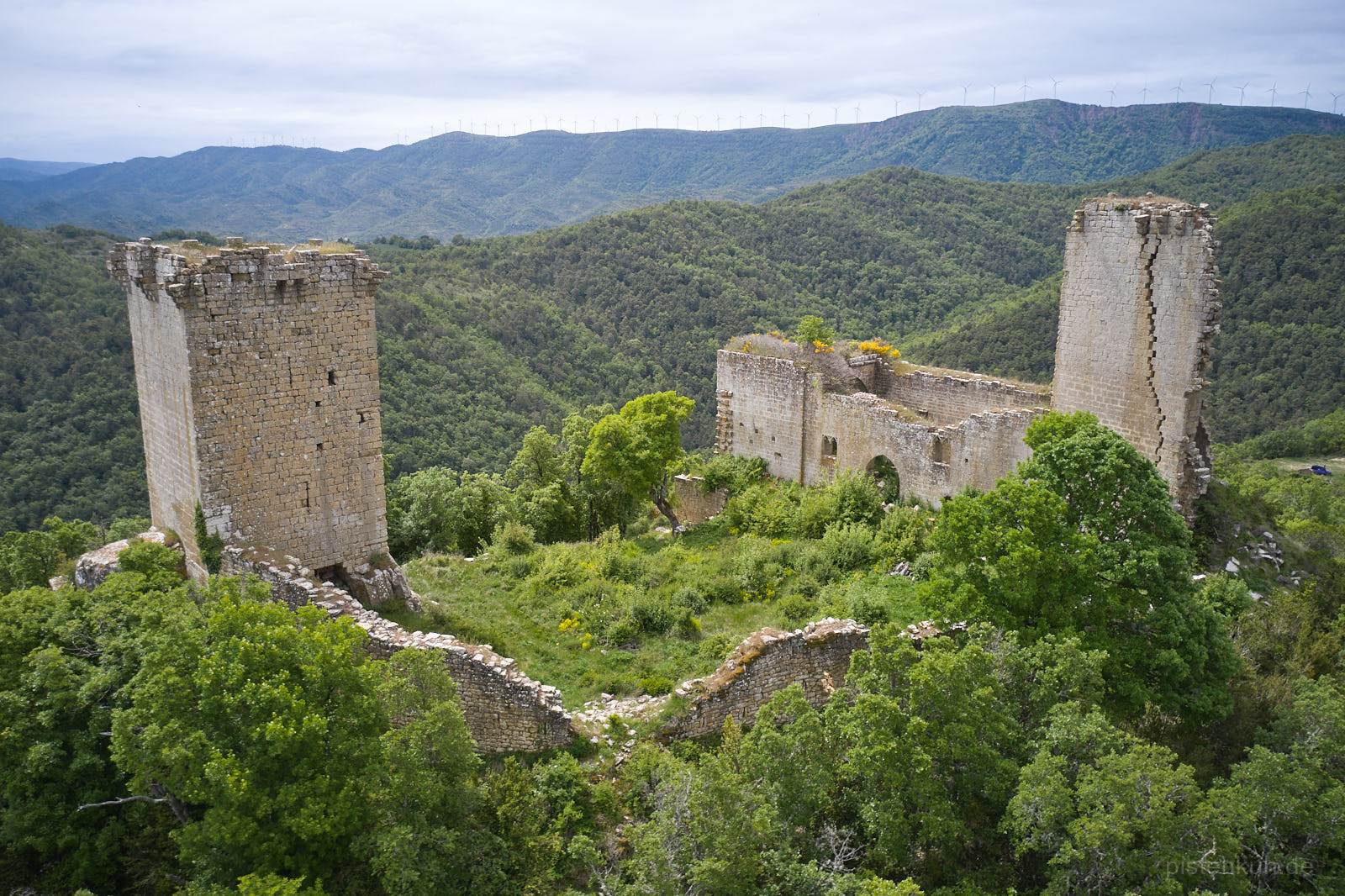 Burgruine in Spanien