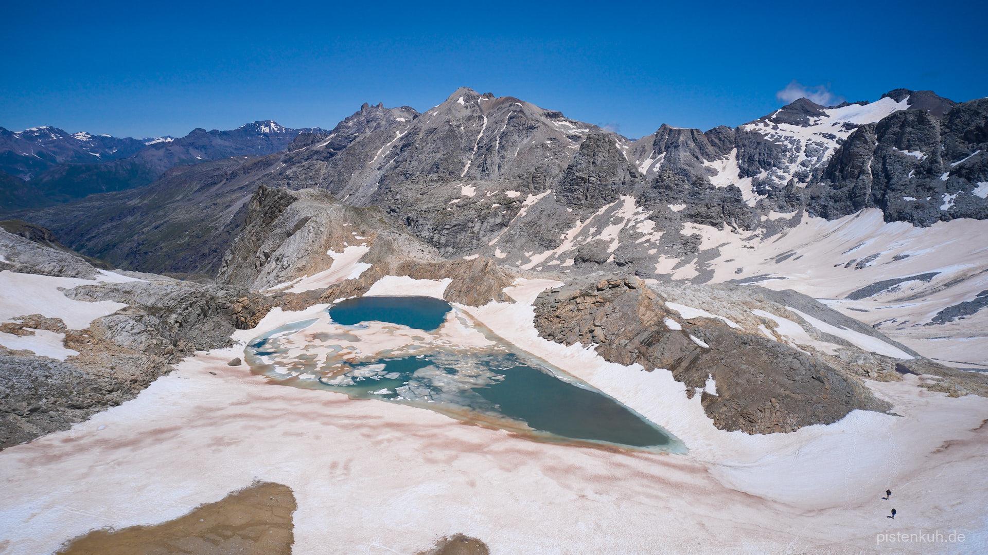 Gletschersee Sommeiller