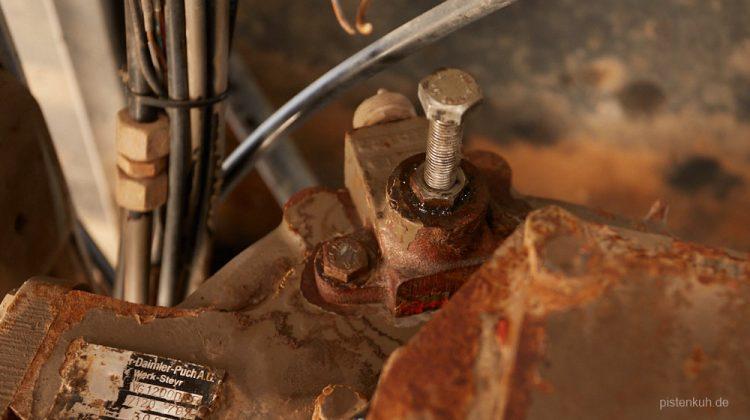 Instandsetzung des Schaltzylinders im Verteilergetriebe