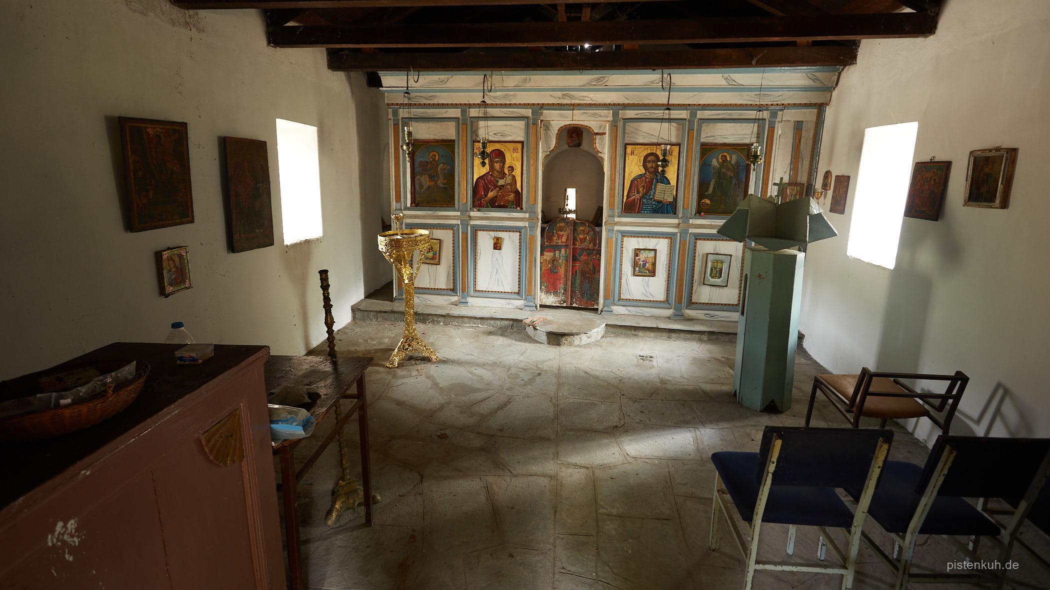Kleine Kapelle im Nirgendwo