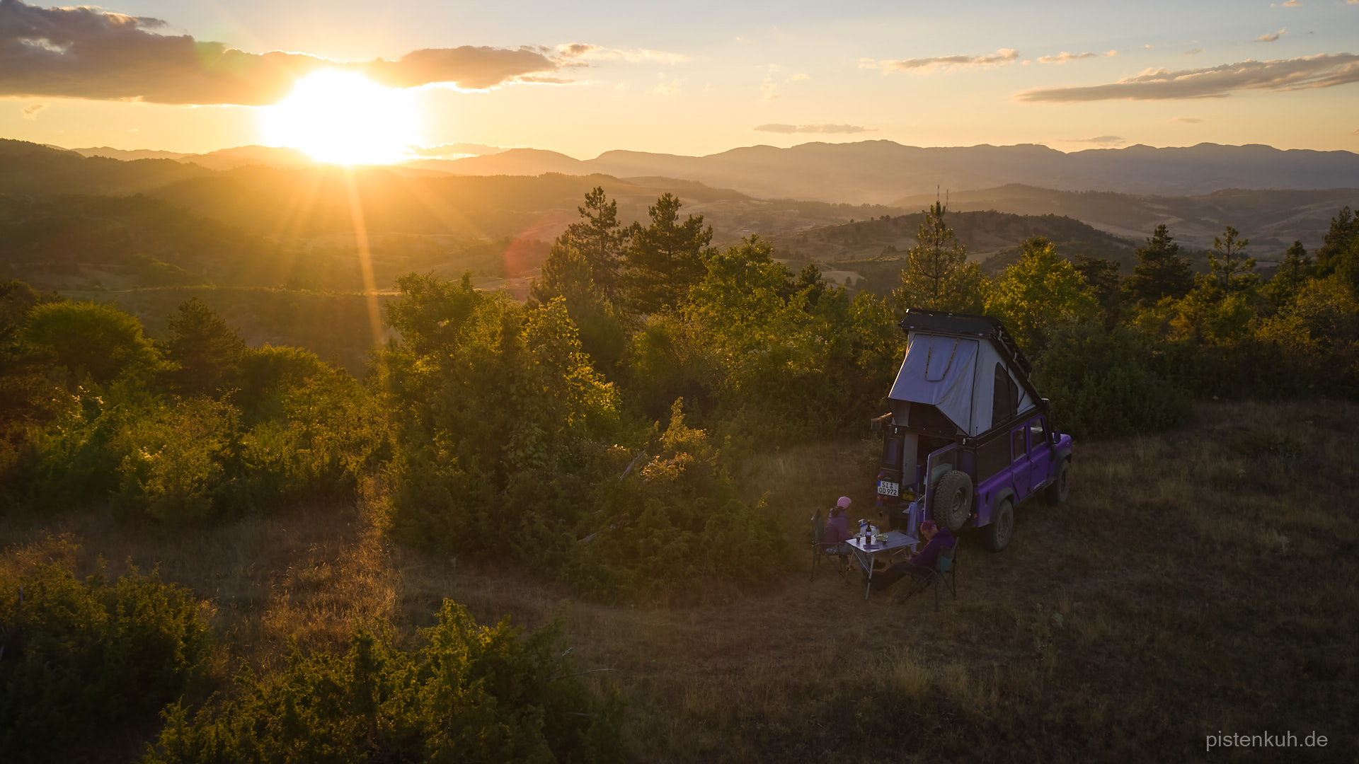 Offroad Camp in Griechenland